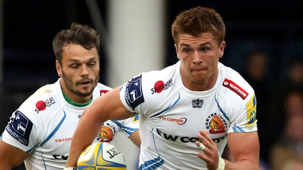 Henry Slade injury boost for Exeter Chiefs