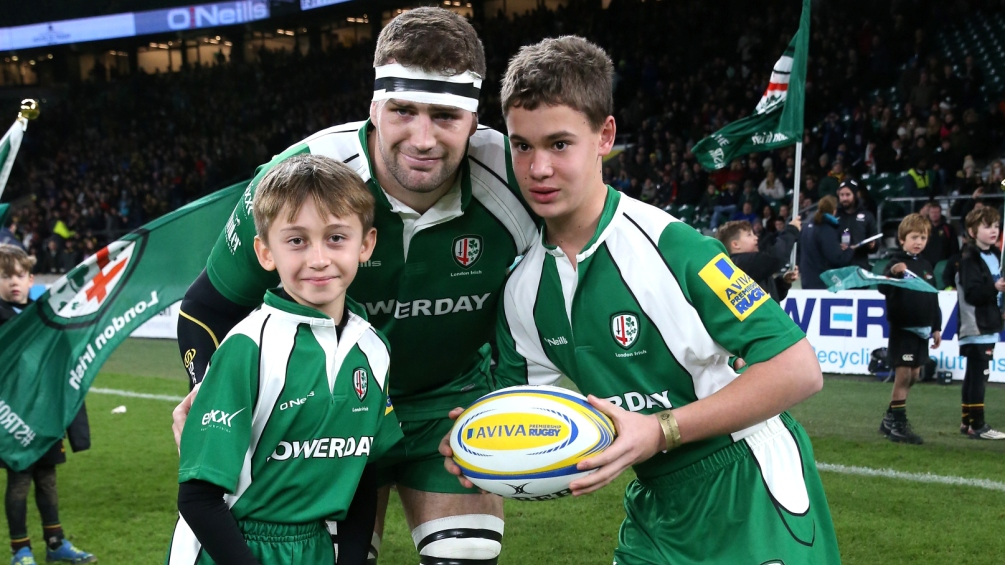 Matt Symons feeling refreshed by London Irish American adventure