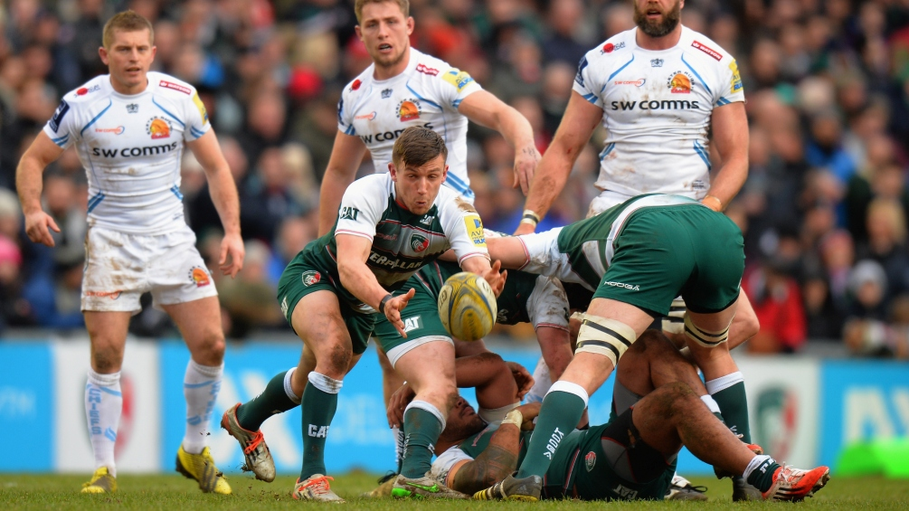 Jono Kitto relishing his chance to shine with Leicester Tigers