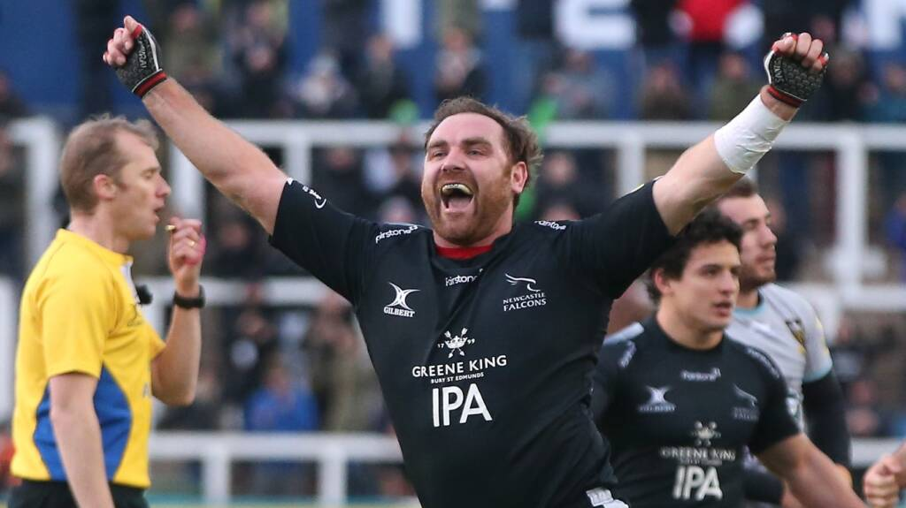 Andy Goode to bow out as a Newcastle Falcon on Easter Sunday