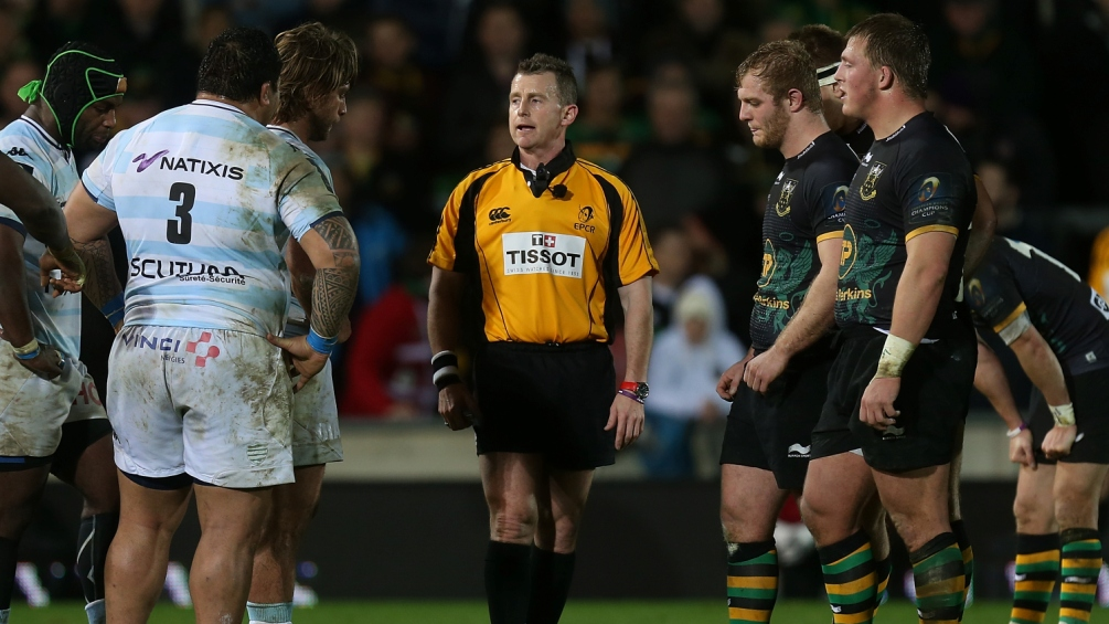 Nigel Owens to referee Champions Cup final