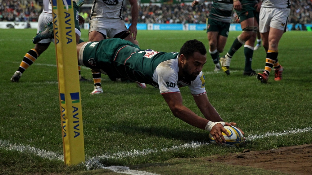 Telusa Veainu gearing up for first end-of-season run-in with Leicester Tigers