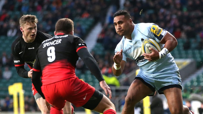 Vuna says Worcester Warriors have Bath Rugby in their sights