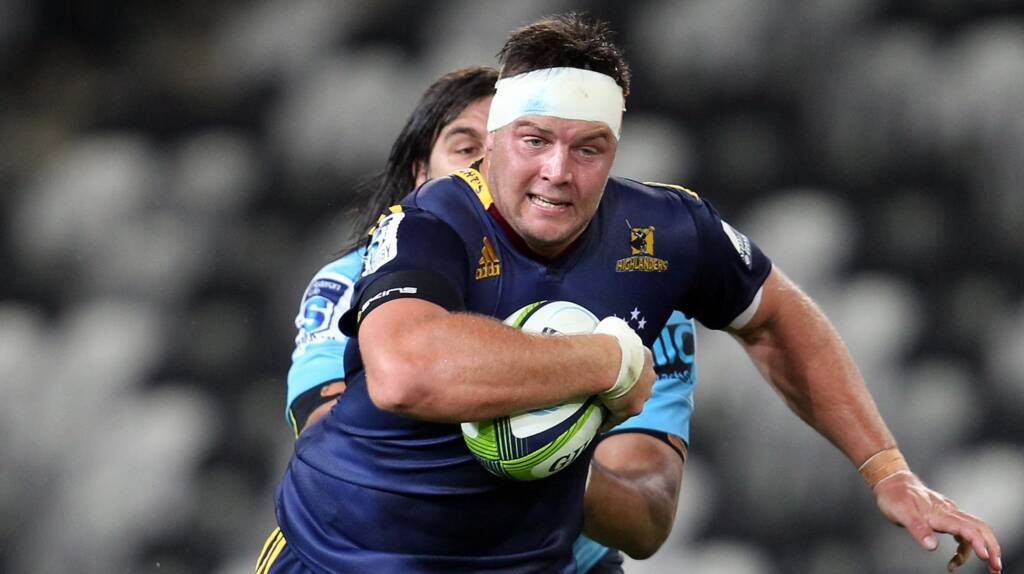 Gloucester Rugby announce signing of Highlanders prop Josh Hohneck