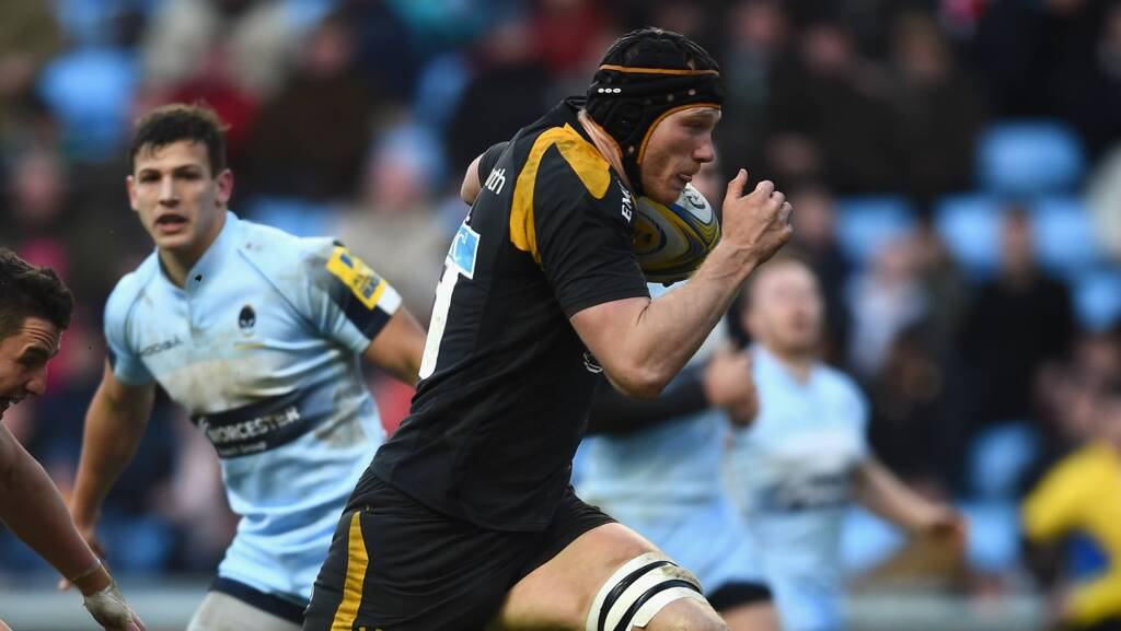 Wasps' team to play Northampton Saints at the Ricoh Arena