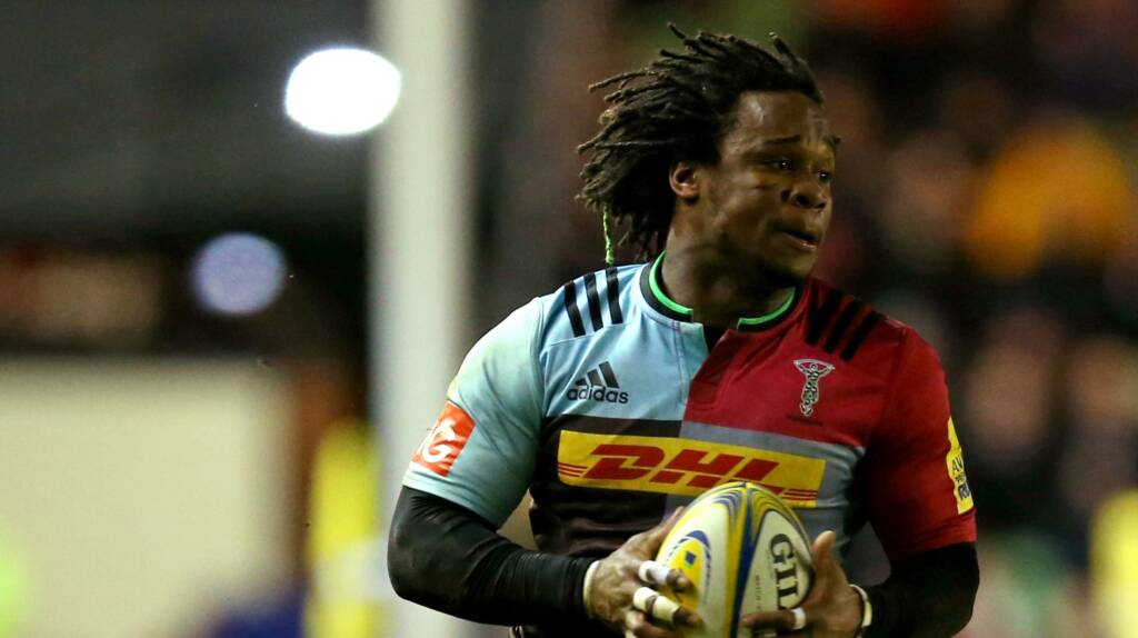 Harlequins team to play Newcastle Falcons