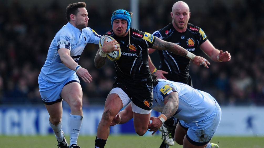 Jack Nowell, Telusa Veainu and Tom Marshall top the Opta charts for Aviva Premiership Rugby