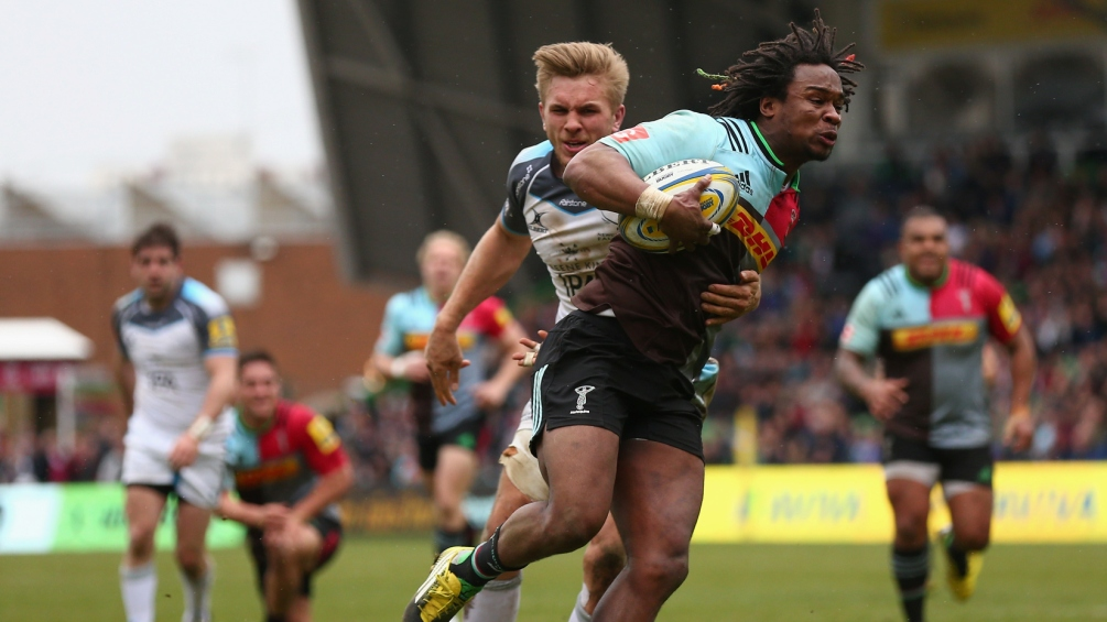 Marland Yarde wants Harlequins to challenge for trophy double