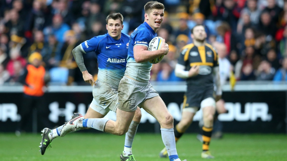 Owen Farrell suspended for two weeks