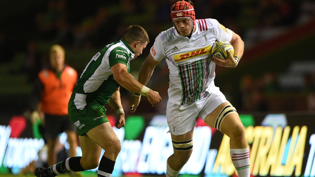 Sam Twomey hails influence of James Horwill at Harlequins