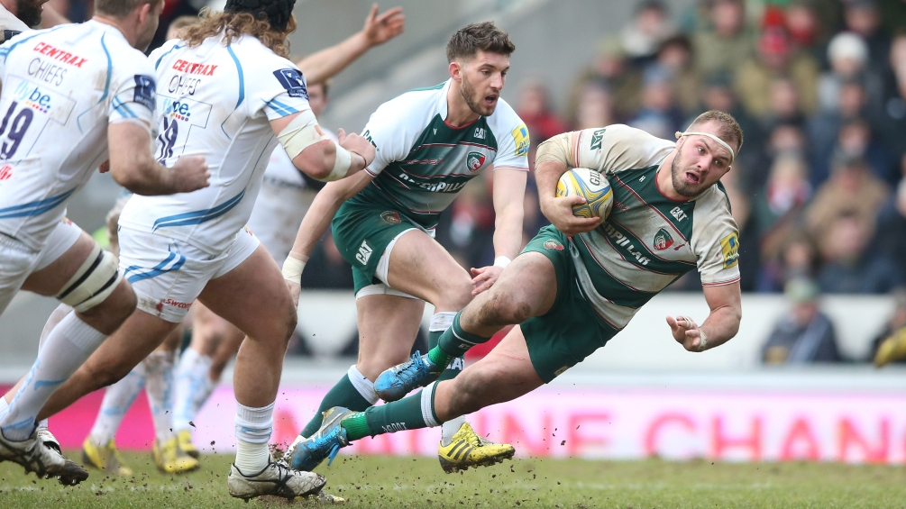 Lachlan McCaffrey says Leicester Tigers are up for the scrap