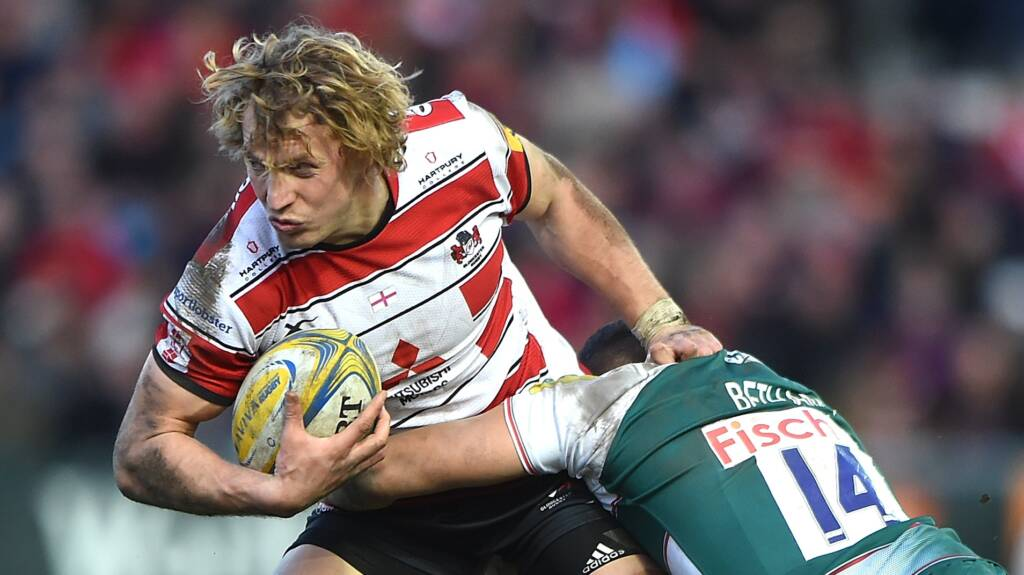 Gloucester Rugby make four changes for visit of Chiefs on Friday