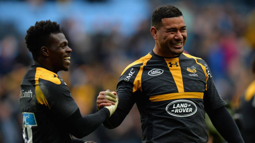 Wasps' team to face Worcester Warriors at Sixways