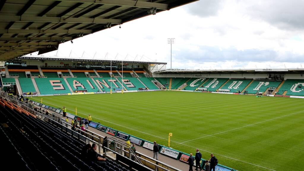 Double boost for Northampton Saints on derby day