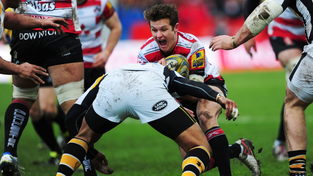 Billy Burns rues his luck at missing the end of Gloucester Rugby's season