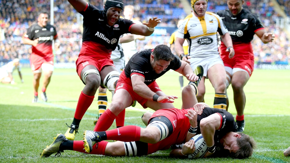 Match Report: Saracens 24 Wasps 17