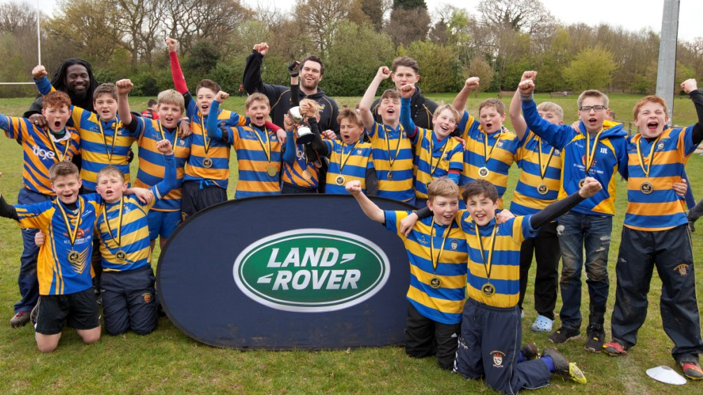 Wasps and Land Rover Premiership Rugby Cup make youngsters' dreams come true