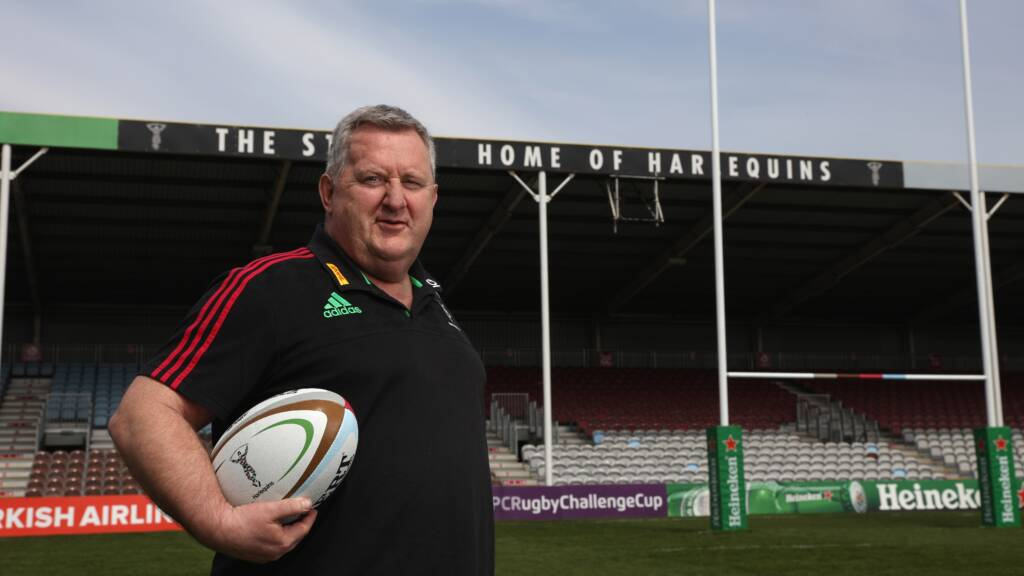 Harlequins confirm Director of Rugby and coaching structure