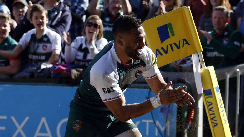 Leicester Tigers fans honour their Players of the Year