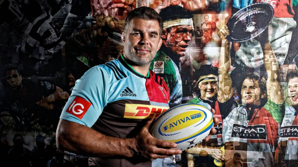 Nick Easter prepares for new era at Harlequins