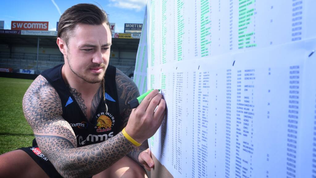 Exeter Chiefs' Jack Nowell discovers relative is among the Somme fallen