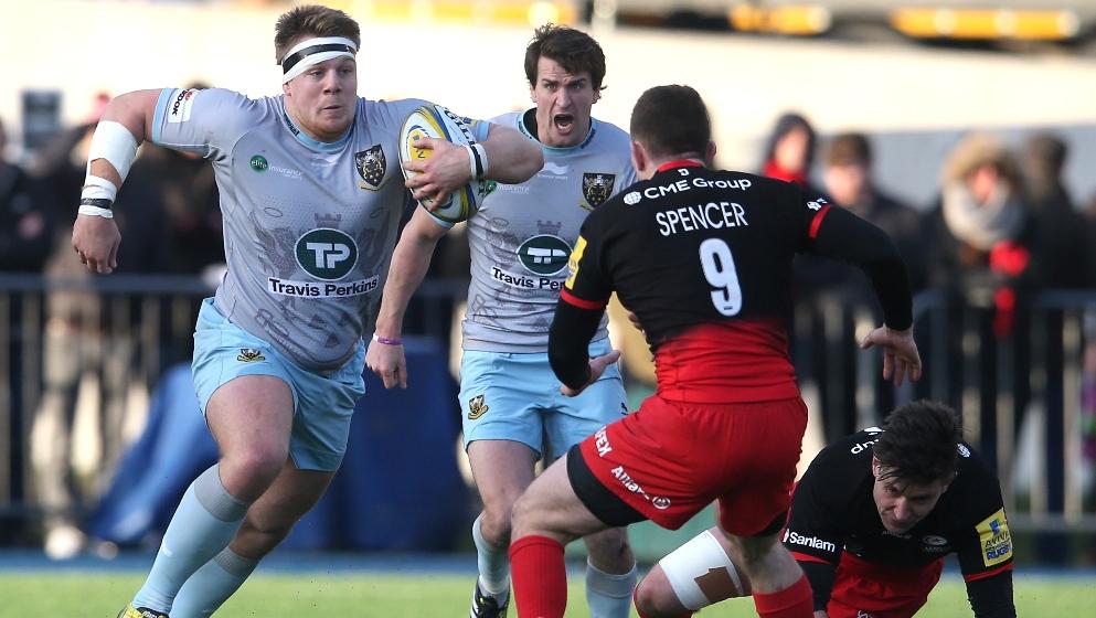 Hill still upbeat about life at Northampton Saints