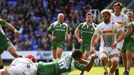AUDIO: London Irish 25 Harlequins 32