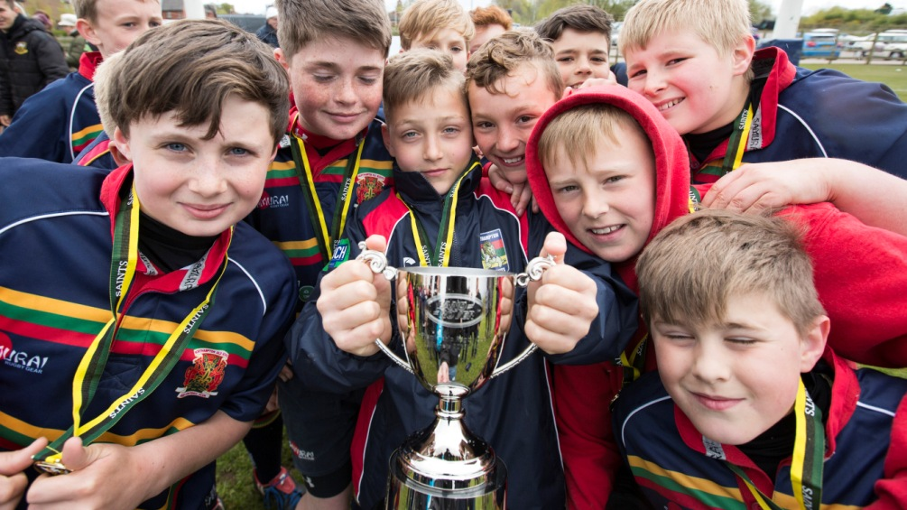 Northampton Old Scouts under-11s book a Twickenham trip