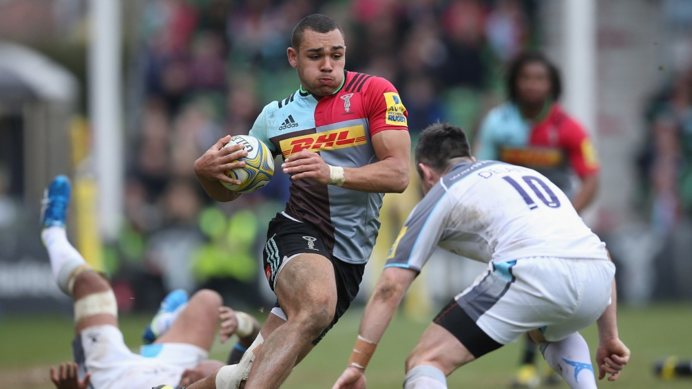 Joe Marchant: Harlequins' sights set only on top six – for now