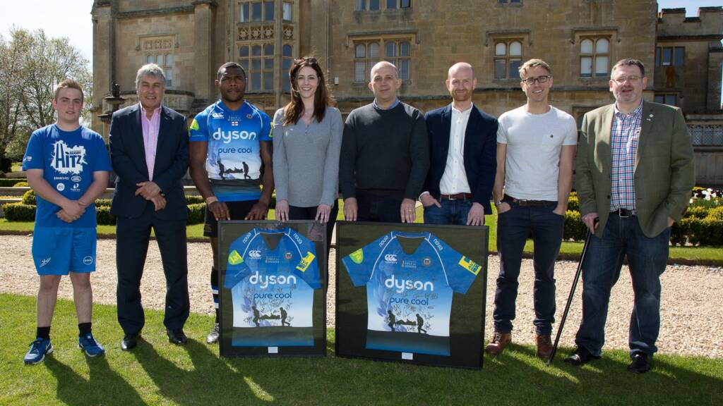 Club unveils Bath Rugby Foundation and Help for Heroes charity shirt