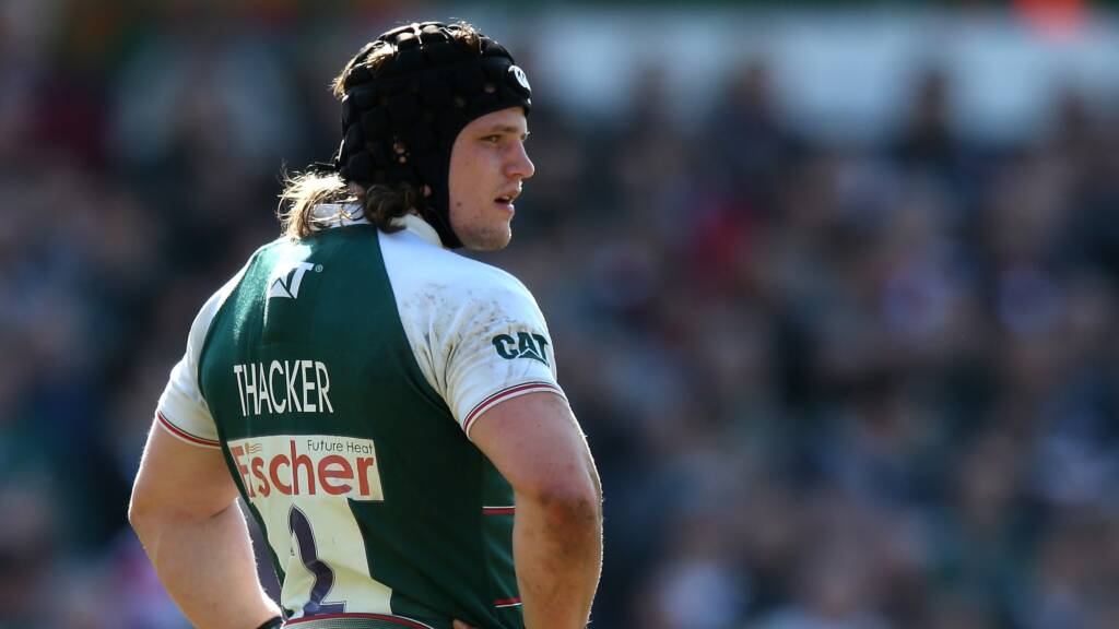 Leicester Tigers' Harry Thacker named Green Flag's Forward of the Month