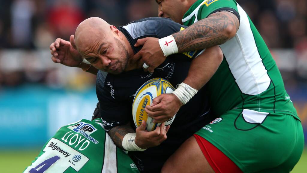 Newcastle Falcons team to face Sale Sharks