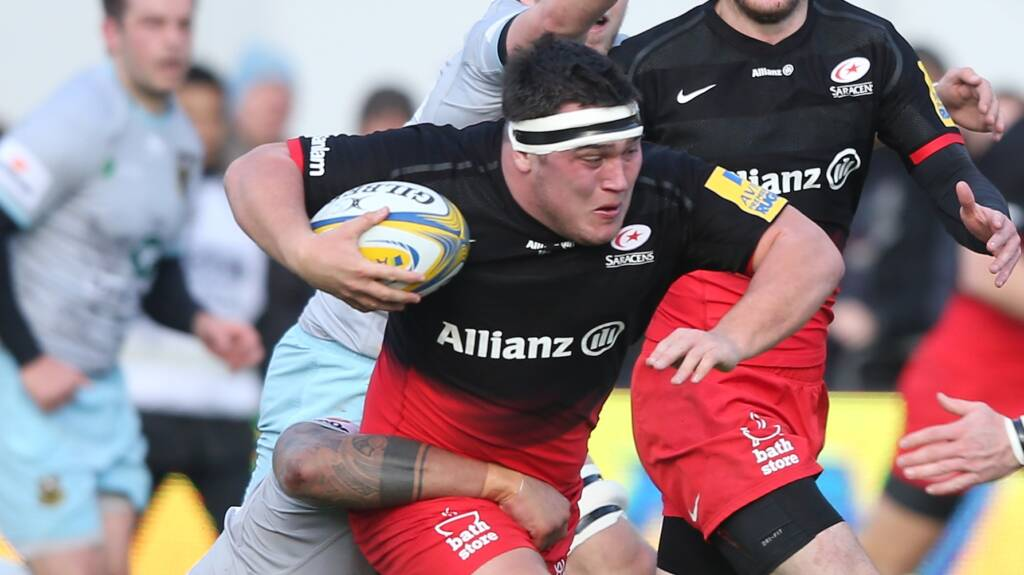 George returns for Saracens to face the Warriors