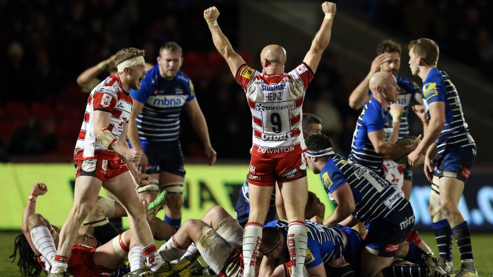 Willi Heinz urges Gloucester Rugby to finish with a flourish