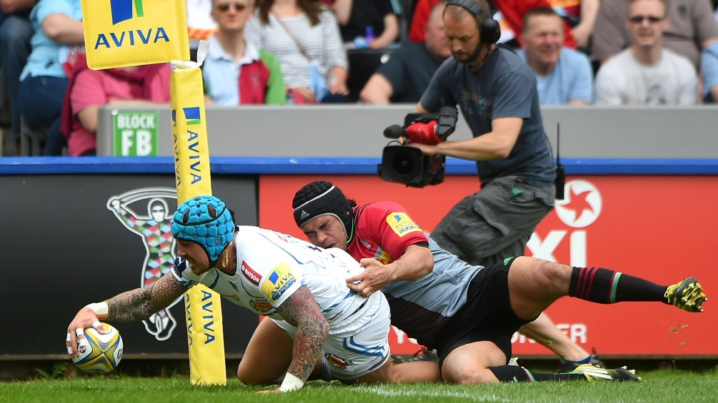 Match Report: Harlequins 24 Exeter Chiefs 62