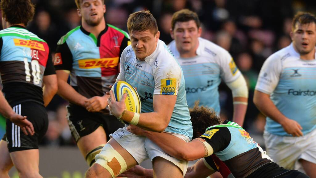Forward foursome sign up for more with Newcastle Falcons