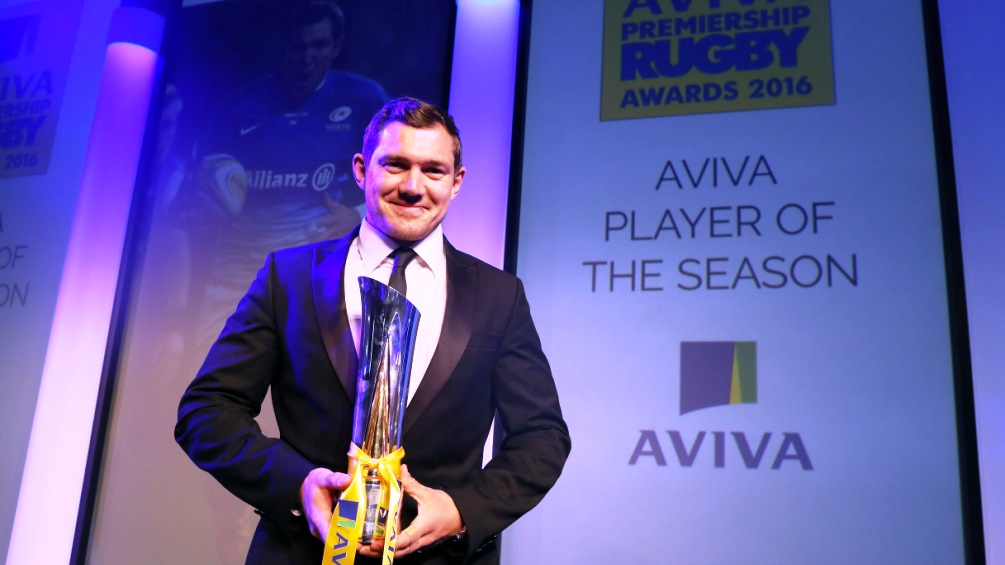 Alex Goode overwhelmed by Aviva Premiership Rugby player of the season award