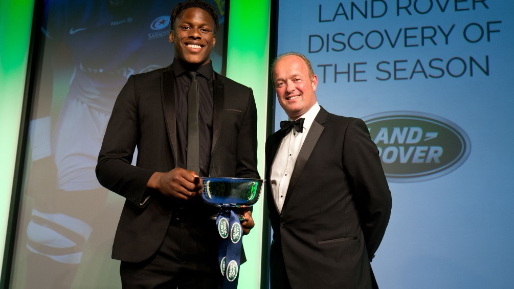 Itoje thrilled as dream week continues with Land Rover Discovery of the Season award