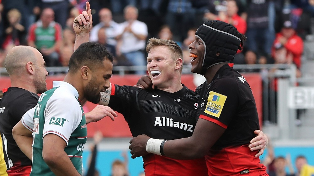 Match Reaction: Saracens 44 Leicester Tigers 17