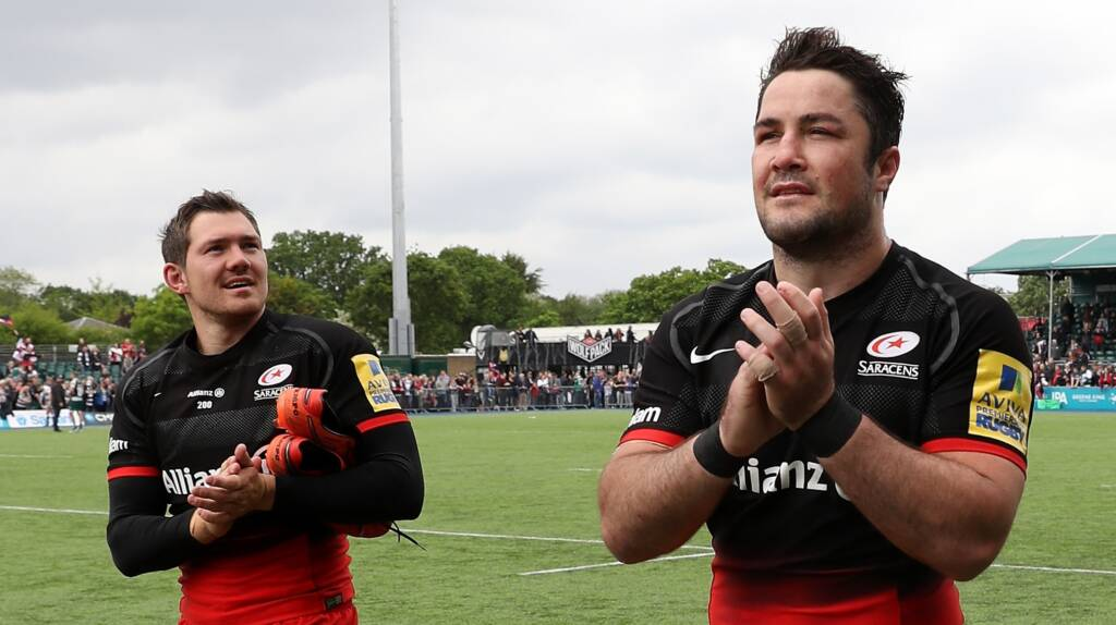 Saracens name team for Aviva Premiership Final