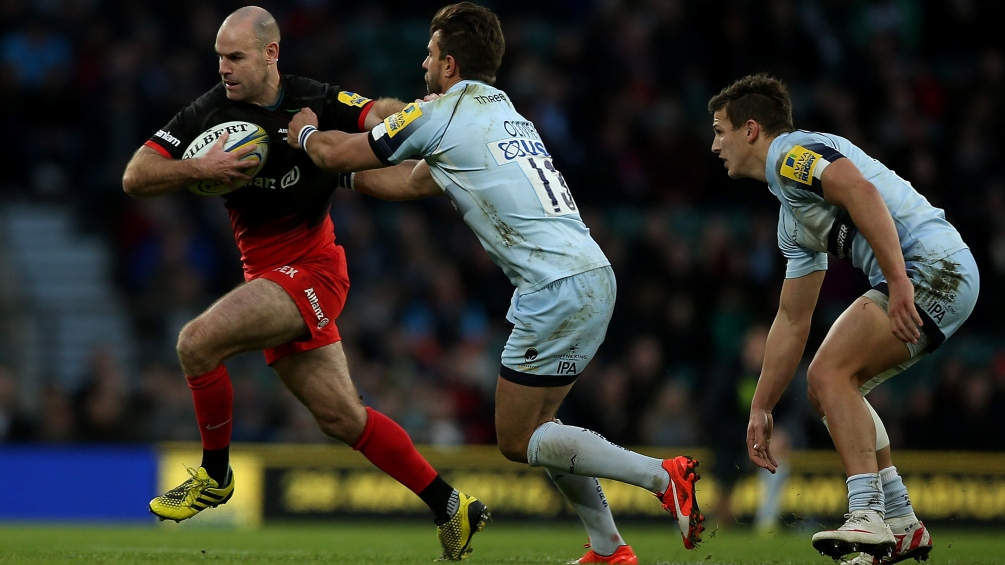 Charlie Hodgson bows out for Saracens on biggest stage