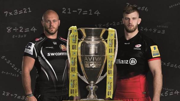 How well do the Aviva Premiership Rugby finalists know their season in numbers?