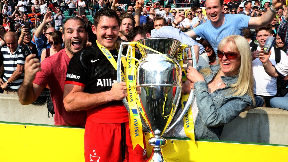 Alex Goode warns best to come for Saracens after title double