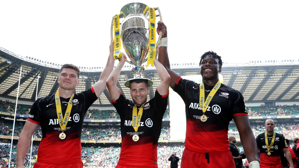 Owen Farrell backs Saracens supremacy after back-to-back titles complete historic year
