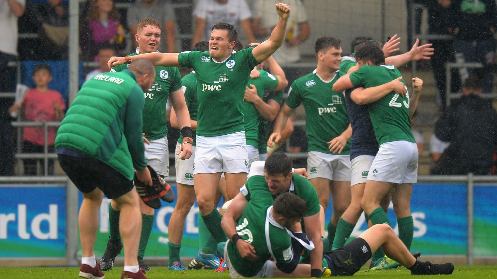 Ireland Under-20s on verge of semi-finals after historic New Zealand win