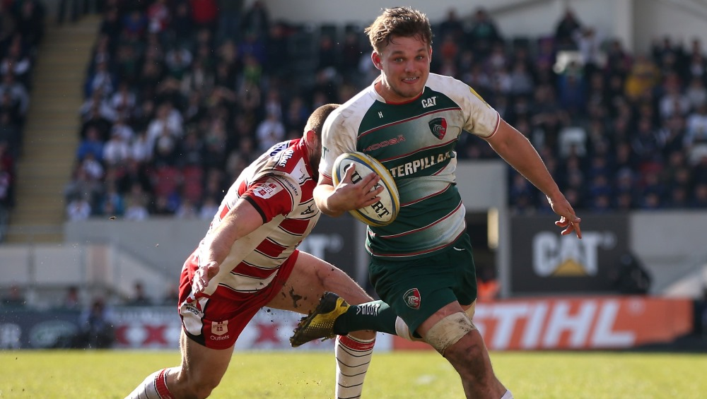Will Evans pleased with debut try but Haag wants more from England Under-20s