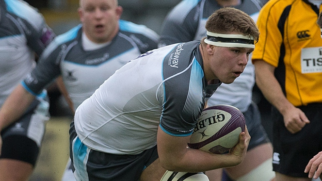 Newcastle Falcons' Callum Chick tipped to kick on after global glory