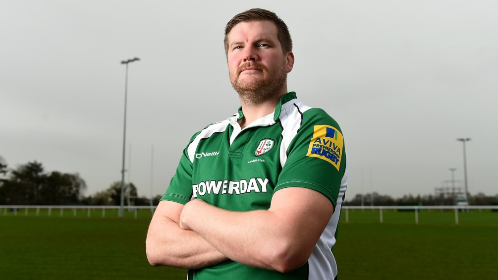 Returning Rouse ready to rumble for London Irish