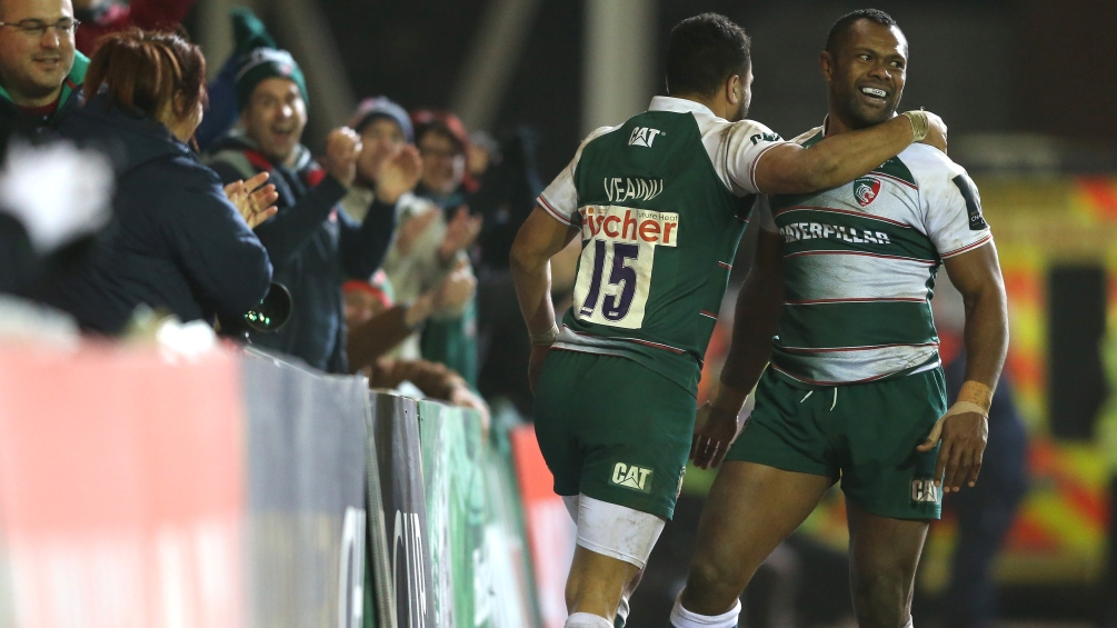 European Rugby Champions Cup round-up: Veainu stars at Welford Road