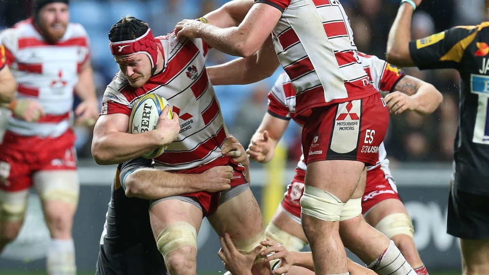 Savage to reach his century for Gloucester Rugby